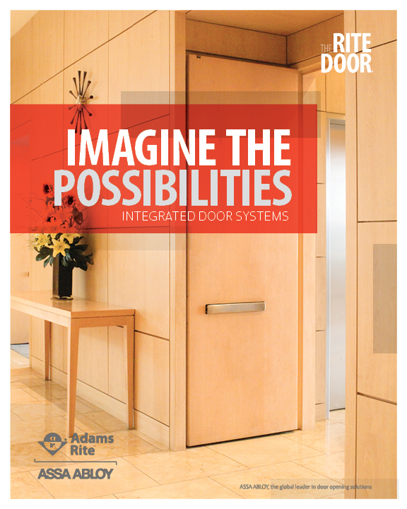 The RITE Door Brochure \u003e\u003e An overview of The RITE Door® integrated door system which features pre-installed hardware. & Electronic Literature - Marketing Tools